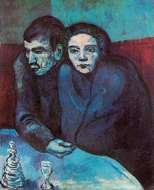 Pareja de Pobres de Pablo Picasso (1881-1973, France) | | WahooArt.com