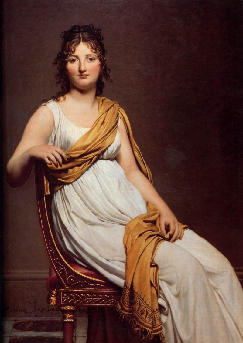 Jacques-Louis David Paintings
