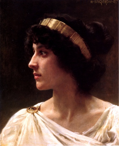 Irene de William Adolphe Bouguereau (1825-1905, France) | WahooArt.com