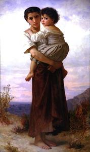 William Adolphe Bouguereau - Gitano joven