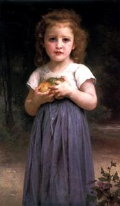 William Adolphe Bouguereau - Maiden y Niños