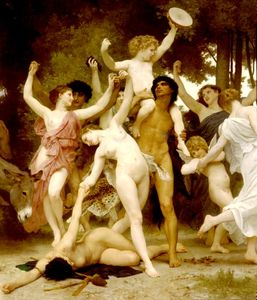 William Adolphe Bouguereau - Centro juvenil Bacchus dt