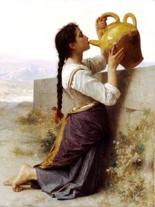 William Adolphe Bouguereau - La soif