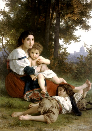 desechos de William Adolphe Bouguereau (1825-1905, France) | WahooArt.com