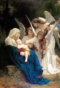 William Adolphe Bouguereau - Canción de los ángeles