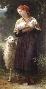 William Adolphe Bouguereau - La Pastora 1873 165.1x87.6cm