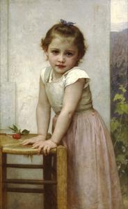 William Adolphe Bouguereau - Yvonne