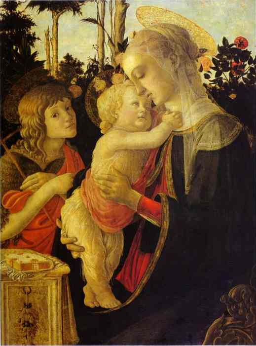matriz sello :virgo el nino XX signé Jean Delpech Alessandro+Botticelli+-+The+Virgin+and+Child+with+John+the+Baptist+