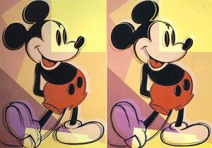 Andy Warhol - Mickey