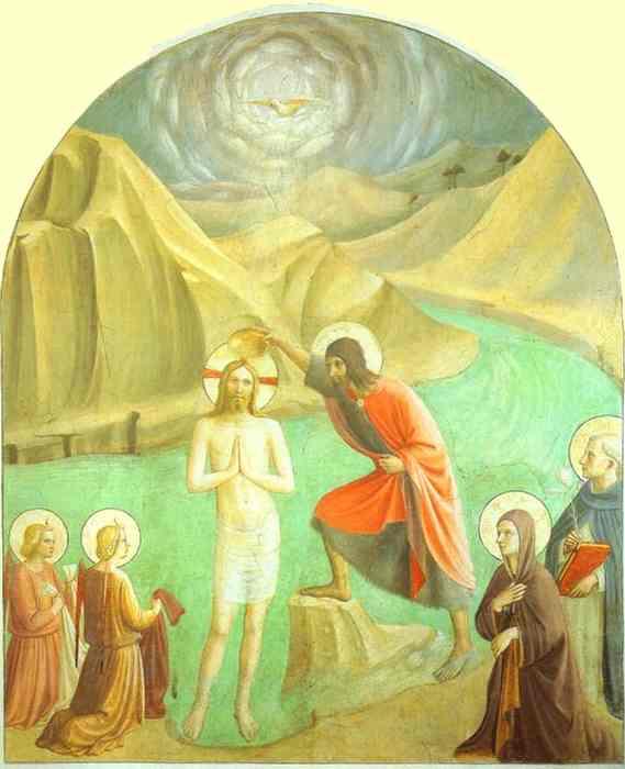 Resultado de imagem para fra angelico bautismo