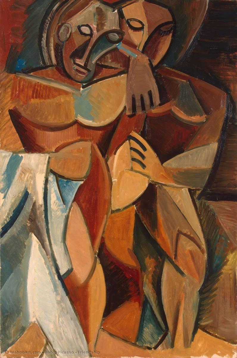 Amistad, 1908 de Pablo Picasso (1881-1973, Spain)