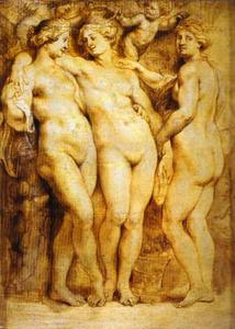 Peter Paul Rubens - los tres tolerancias