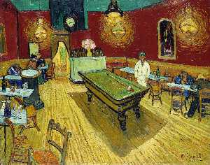 Vincent Van Gogh - the night cafe [ 1888 ] - (Arte en Lienzo)