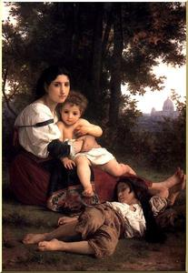 William Adolphe Bouguereau - Caridad