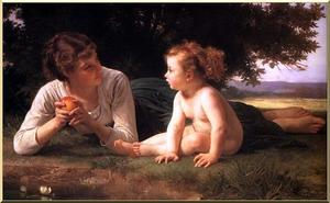 William Adolphe Bouguereau - tentación