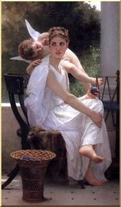 William Adolphe Bouguereau - Trabajo interrumpido