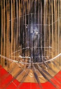 Francis Bacon - figura in marco , 1950 x