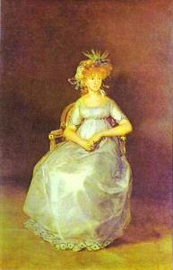 Francisco De Goya - Retrato de la condesa de Chinch n
