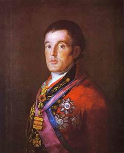 Francisco De Goya - Retrato de la Duque de wellington