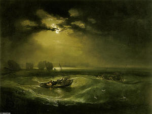 William Turner - Pescadores en el mar