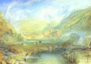William Turner - Rivaulx Abadía , Yorkshire