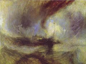 William Turner - nieve tormenta - Steam-Boat de una Harbour's Boca