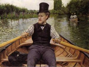 Gustave Caillebotte - Remeros