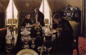Gustave Caillebotte - Almuerzo