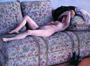 Gustave Caillebotte - coucs nud
