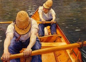 Gustave Caillebotte - Los Remeros