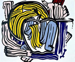 Roy Lichtenstein - Apple y pomelo
