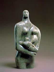 Henry Moore - Madre e hijo_