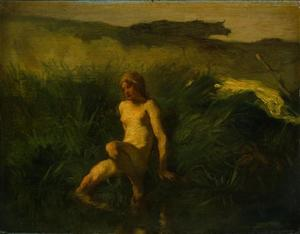 Jean-François Millet - El Bather1