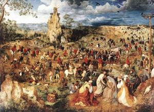 Pieter Bruegel The Elder - Cristo que lleva la Cross