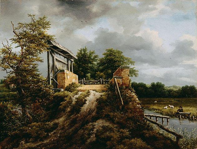 Serie: Los Pintores - 42 - Jacob van Ruisdael