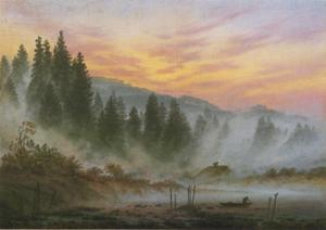 Caspar David Friedrich - La mañana