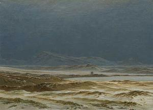 Caspar David Friedrich - norte paisaje resorte