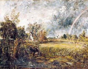 John Constable - Cottage en East Bergholt