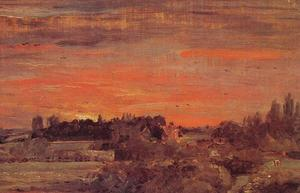 John Constable - East Bergholt Rectoría