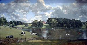 John Constable - Wivenhoe Parque , Essex