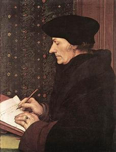 Hans Holbein The Younger - Erasmus