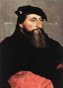 Hans Holbein The Younger - Retrato del duque Antonio el Bien de Lorena