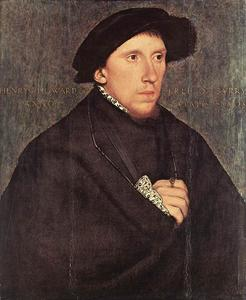 Hans Holbein The Younger - retrato de enrique Howard , conde de surrey