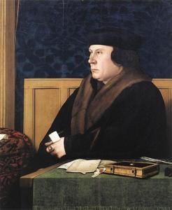 Hans Holbein The Younger - Retrato de Thomas Cromwell