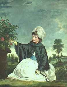 Joshua Reynolds - lady caroline howard