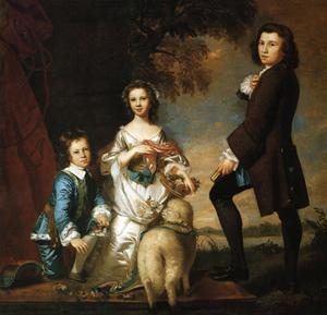 Joshua Reynolds - thomas y martha neate , con tutor