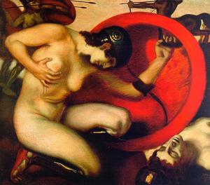 Franz Von Stuck - Herido Amazon