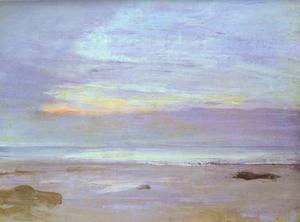 James Abbott Mcneill Whistler - Crepuscule en Opal, Trouville