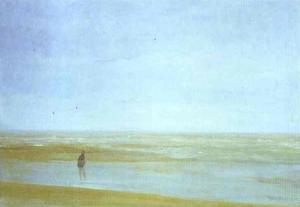 James Abbott Mcneill Whistler - mar y lluvia