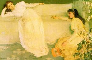 James Abbott Mcneill Whistler - sinfonía en blanco número 3